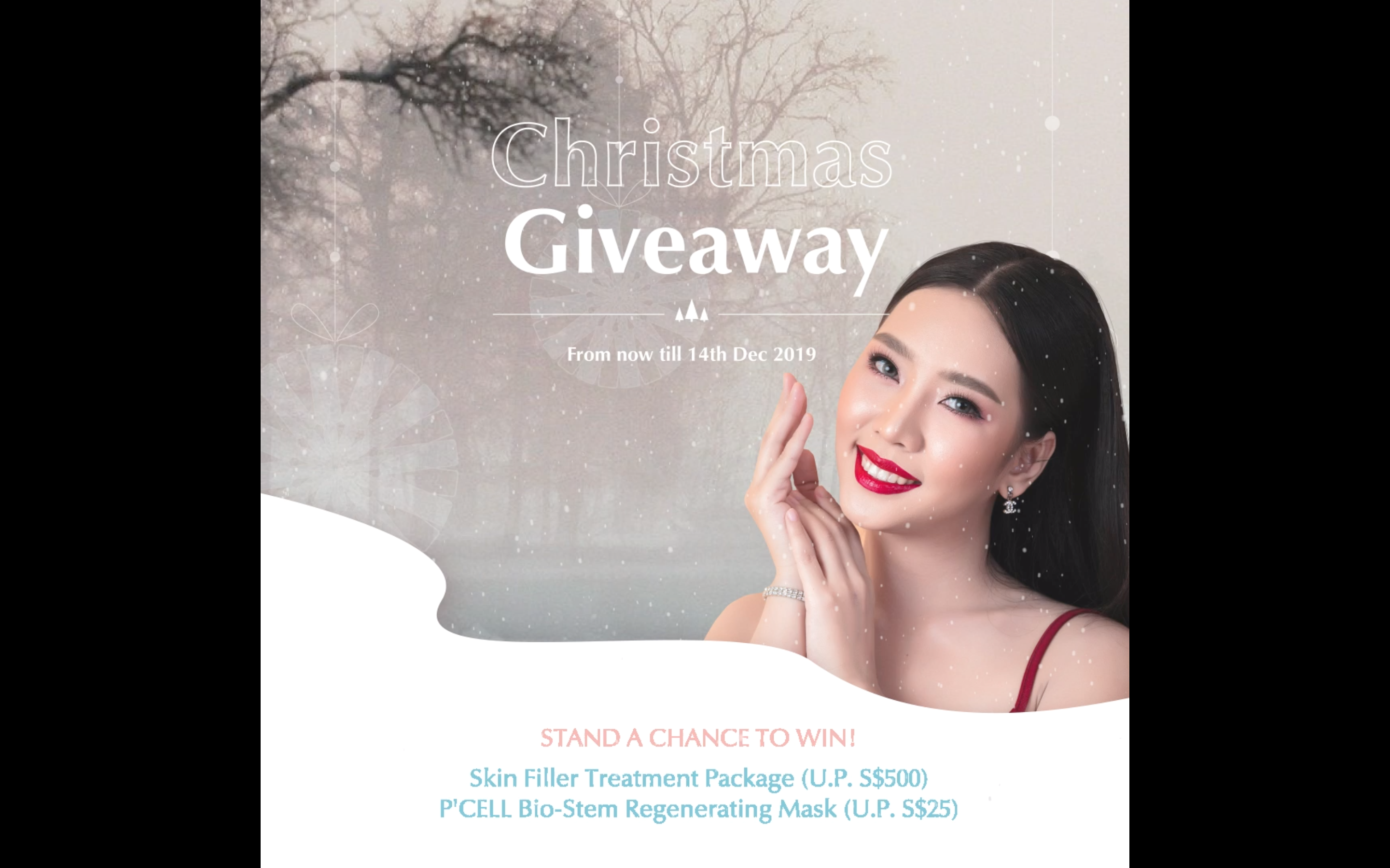 P'CELL CHRISTMAS GIVEAWAY